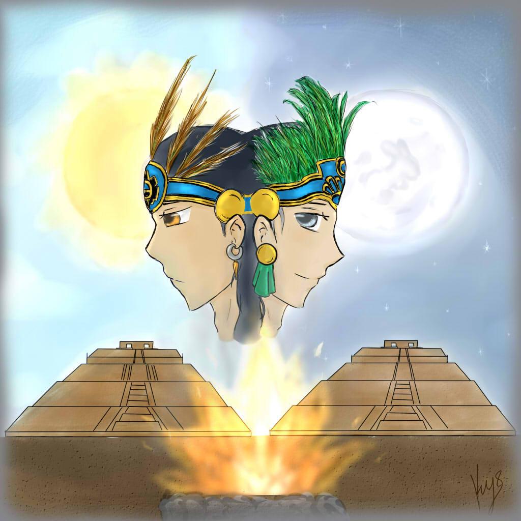 Esta imagen tiene un atributo ALT vacío; su nombre de archivo es sol-y-luna-leyenda-teotihuacan.jpg